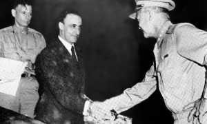 Armistice 1943 Castellano Eisenhower