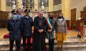 Vescovo Brambilla a Stresa