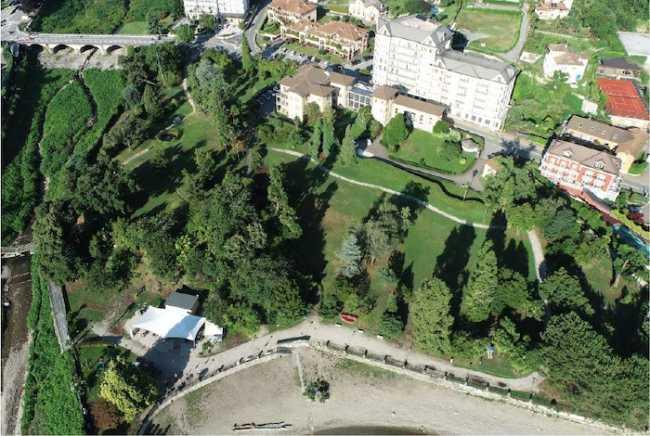 VillaFedora parco