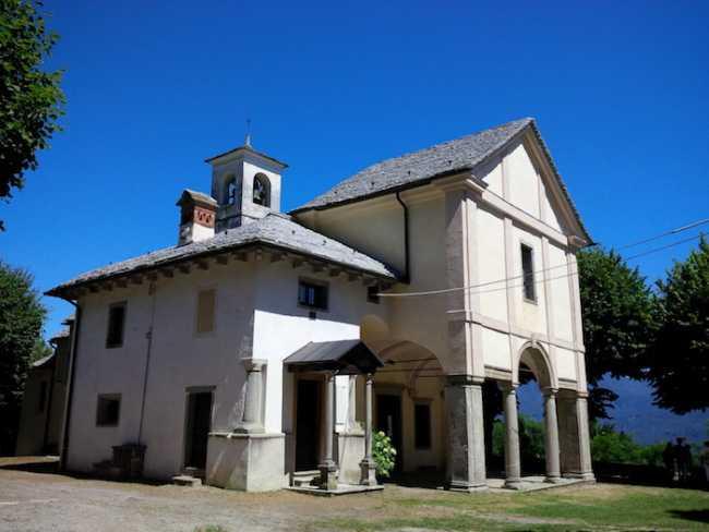 sacro monte chiesa ghiffa